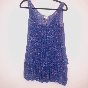 intametly free people tank blue maroon